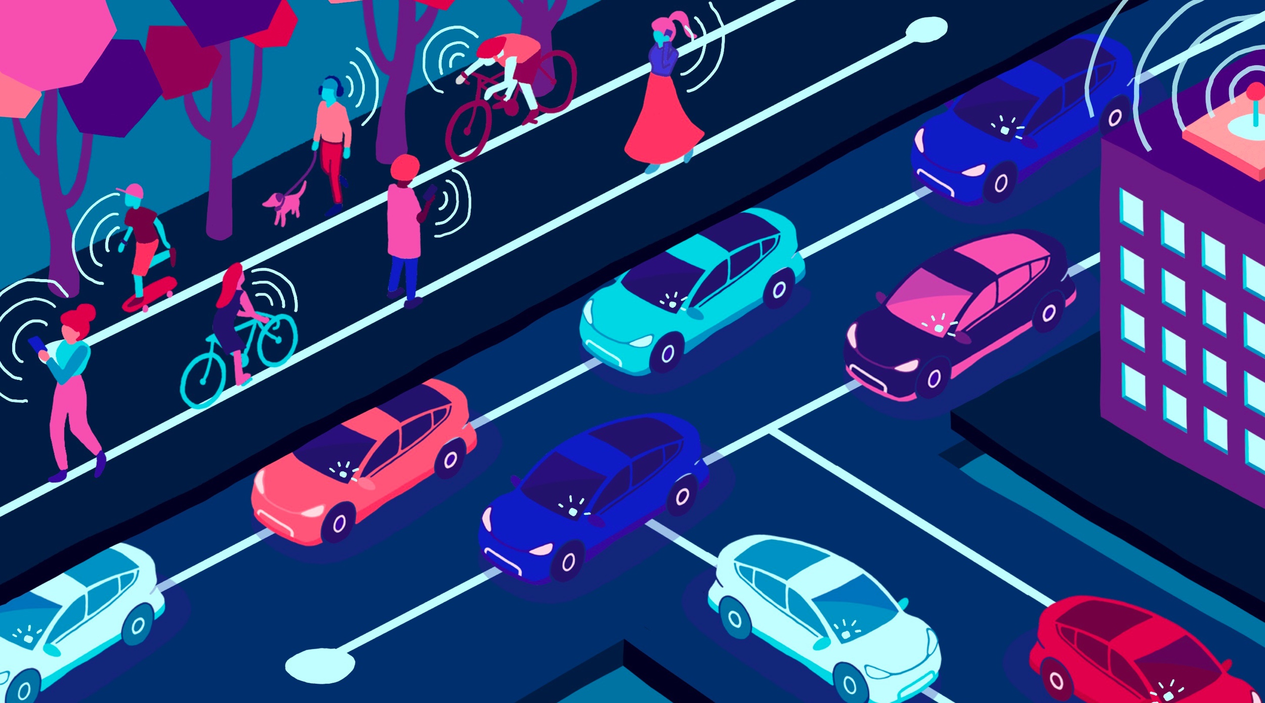 Using self-driving cars to roadmap a safer transit system